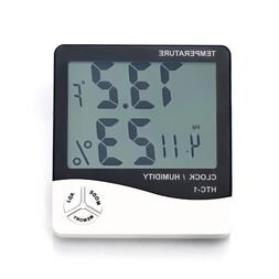 CJ Weather Thermometers, Indoor Humidity Thermometer Wall Mo