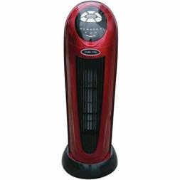 "OPTIMUS H-7328 22"""" Oscillating Tower Heater with Digital Re"