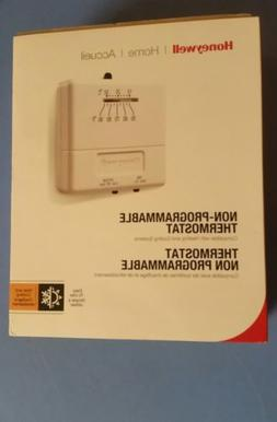 HONEYWELL HOME ACCUEIL NON PROGRAMMABLE THERMOSTAT CT31A -NE