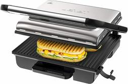 Tefal Home Adjust Grill With Thermostat, 2000 W, Stainless S