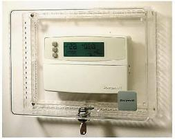 Honeywell Home/Bldg Center CG512A 1009 Locking Thermostat Gu