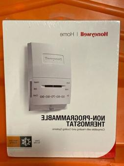 HONEYWELL HOME/BLDG CENTER Heat/Cool Manual Thermostat CT51N