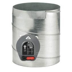 HONEYWELL HOME CPRD10 Bypass Damper,Gr/Rd/Steel,10 in. Dia.