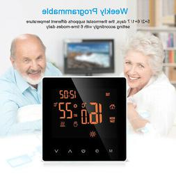 Home LCD Smart WiFi Programmable Heating Thermostat Temperat