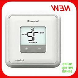 HONEYWELL HOME Low Voltage Thermostat,Heat-Cool-Off,LCD, Whi