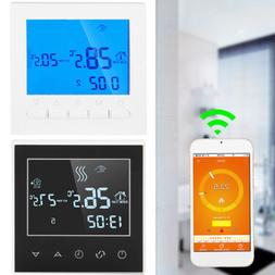 Home Programmable Smart Wifi Wireless Digital Thermostat LCD
