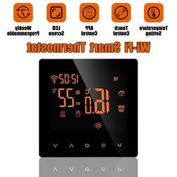 App Control Home Programmable Heated Thermostat Wifi Digital
