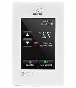 Nuheat Home Radiant Floor Heating Dual Voltage Programmable