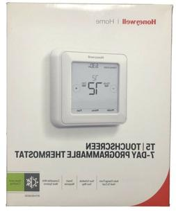 home rth8560d 7 day programmable touchscreen thermostat
