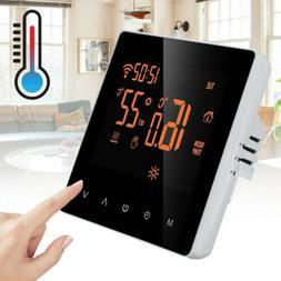 home smart programmable wifi wireless heated digital