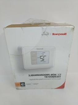 Honeywell Home T2 Non-Programmable Thermostat - New Other