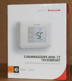 Honeywell Home T2 Non-Programmable Thermostat RTH5160D w/ Ba