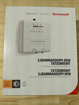 HONEYWELL HOME THERMOSTAT CT31A>  SQUARE> HEAT to COOL> NON-