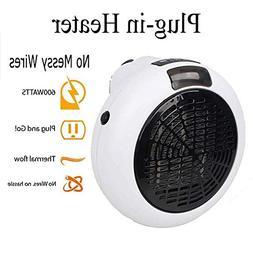 instant plug ceramic space heater