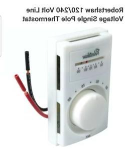 Robertshaw Item 801 Model M601-25 Line Voltage Thermostat
