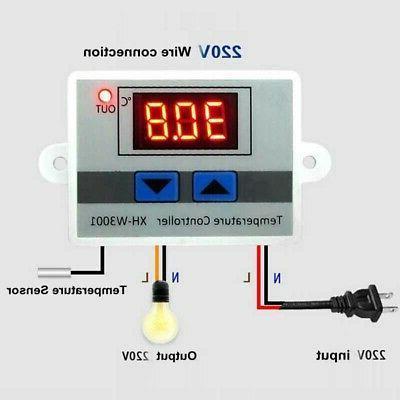 1 digital led temperature controller thermostat control