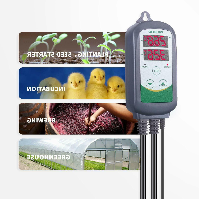 110v itc 308 digital temperature controller heater