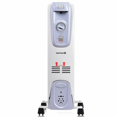 1500W Electric Radiator Space Heater Thermostat