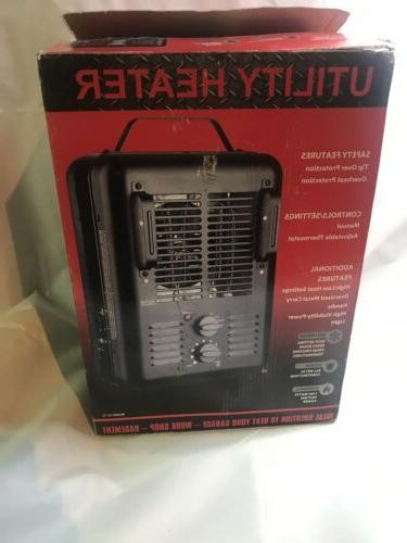 1500w portable electric heater thermostat home fan