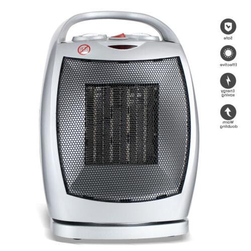 1500W Space Heater Electric Oscillating Ceramic