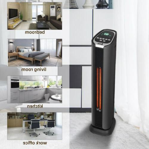 1500w portable space heater electric oscillating ceramic