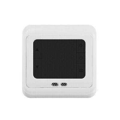 16A Digital Thermostat Heating Temperature
