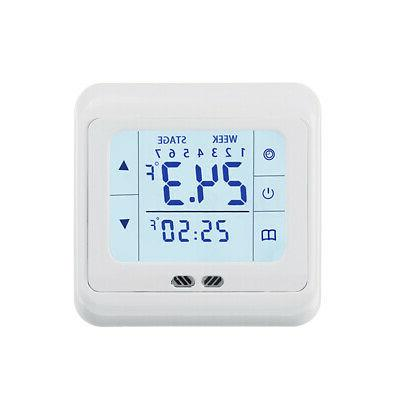 16A Digital LCD Thermostat Home Temperature
