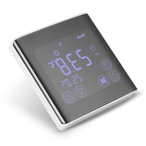 Blue LED Digital Wall Clock levels Alarm Clock