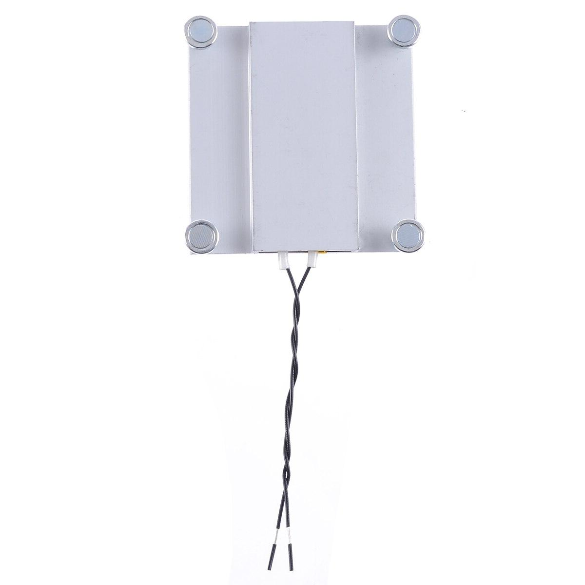 1pc <font><b>Thermostat</b></font> Heating Soldering For TV LED Aluminum 68*70mm