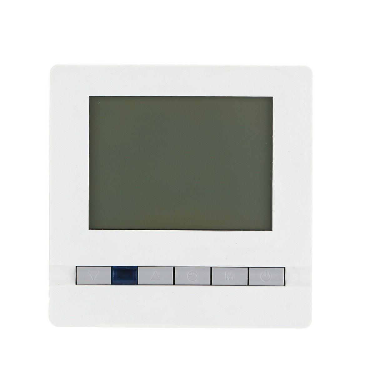 1PC Remote Control Heating Thermostat for Home