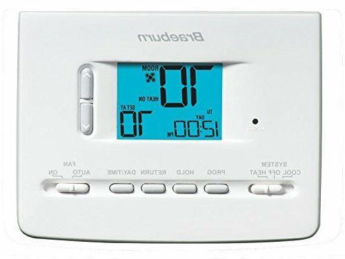 2020nc thermostat 5 2 day programmable 1h