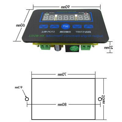 Led Mini Easy Install Switch Part Digital