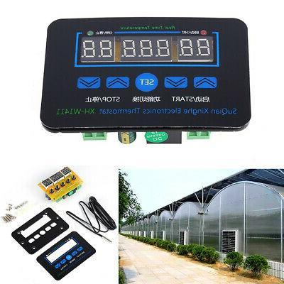 220V Home Mini Temperature Controll Digital Thermostat