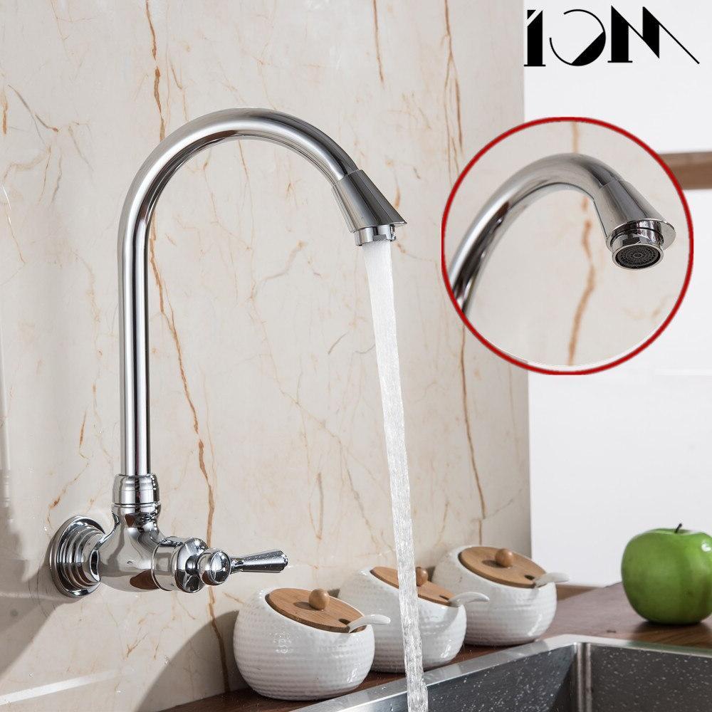 360 Single Cold Faucet Brass <font><b>Wall</b></font> Tap