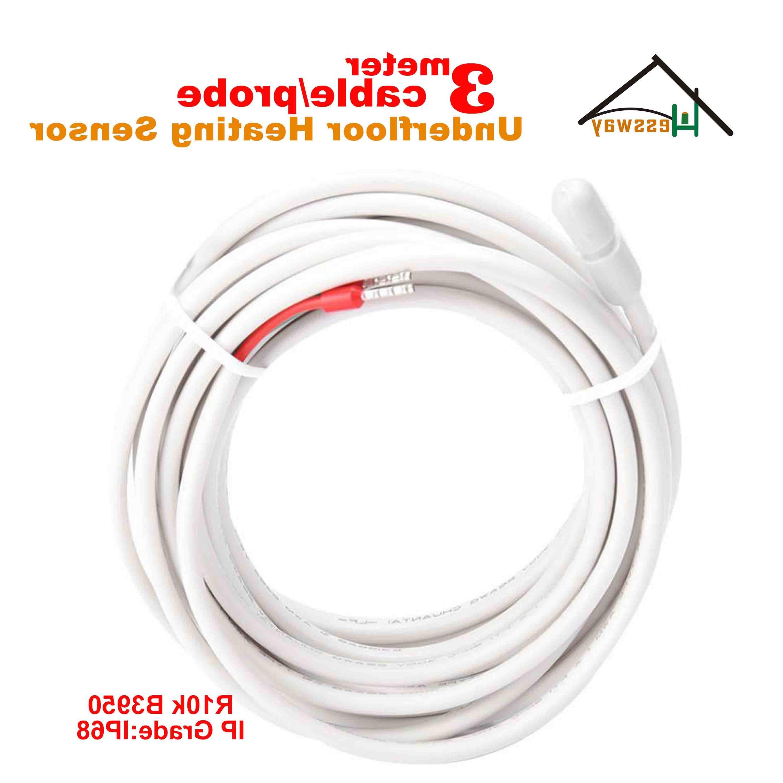 3M waterproof heating sensor NTC 10k
