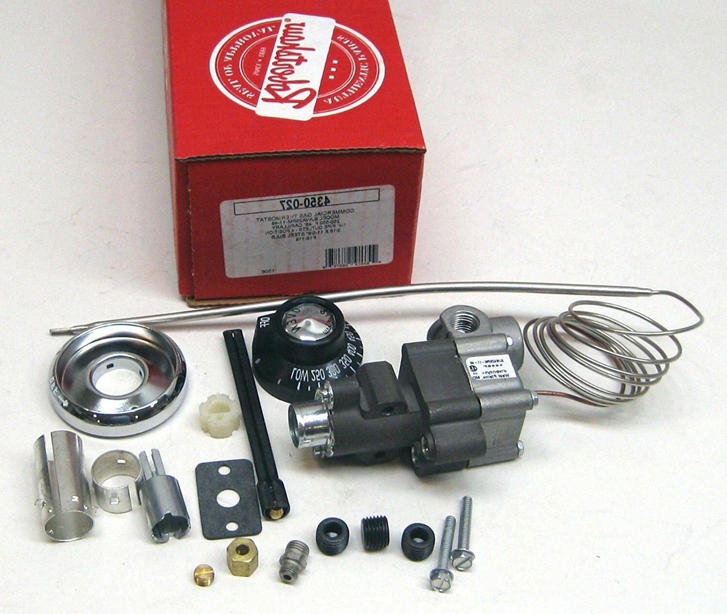 4350 027 commercial gas thermostat with dial