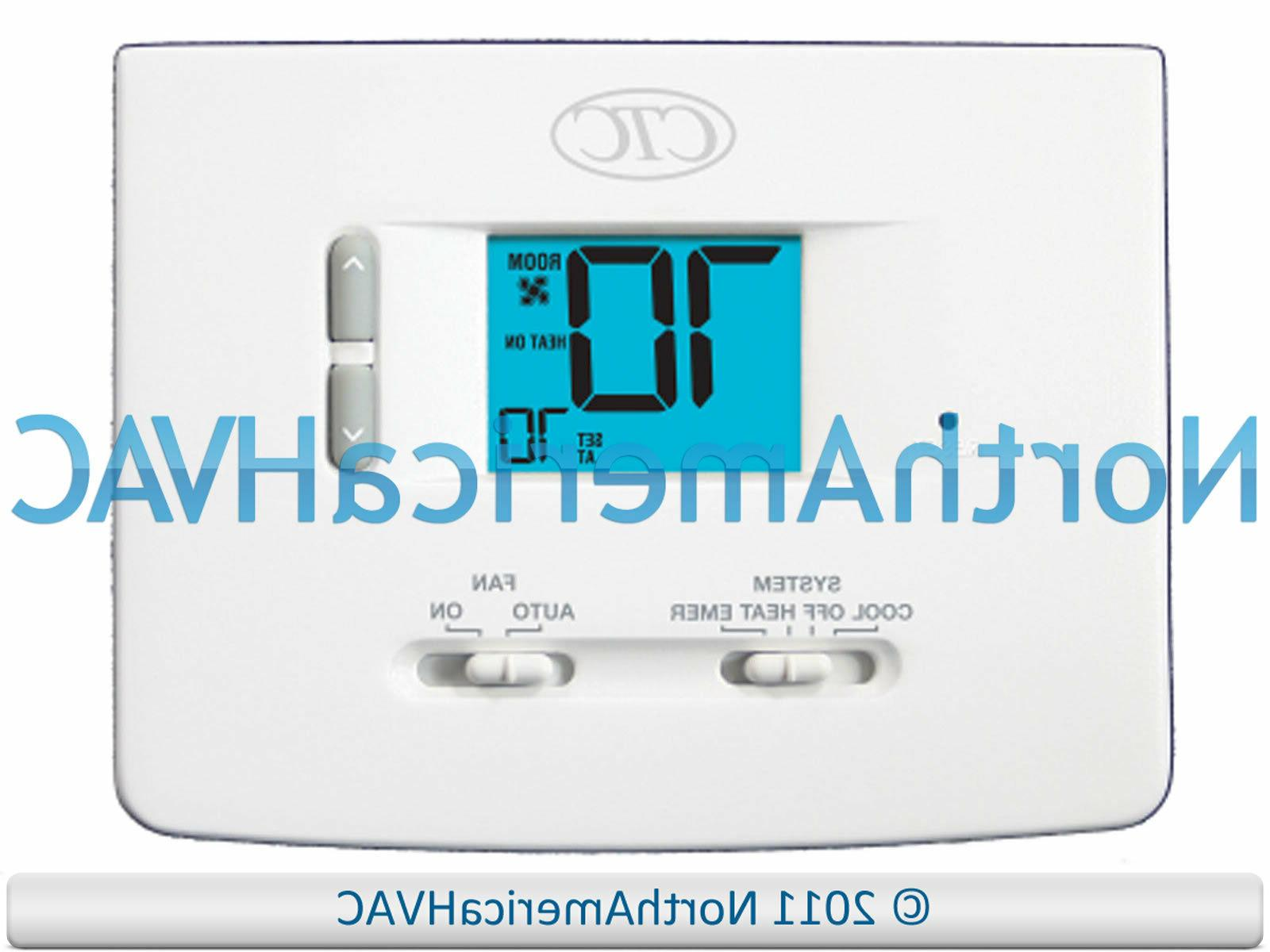 CTC Home HP Furnace Thermostat 1