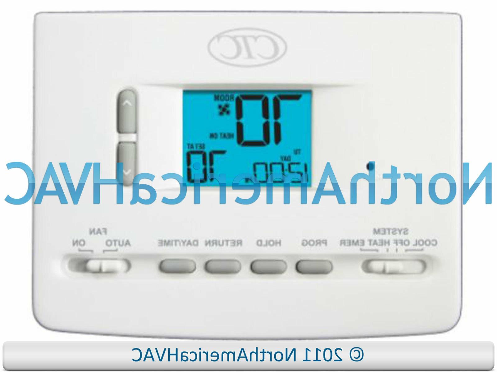 62100n digital home ac hp furnace thermostat