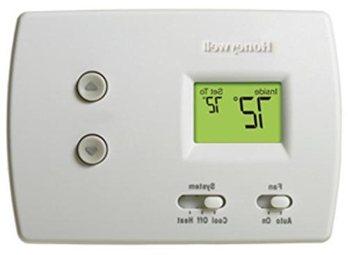 Honeywell Non-Programmable Digital1H-1C Pro