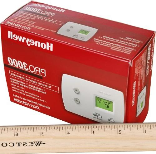Honeywell 672443 Thermostat Non-Programmable Digital1H-1C