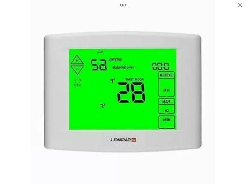 7 days programmable touch screen thermostat universal