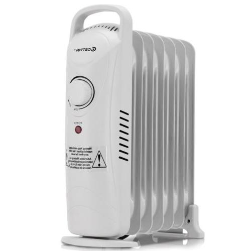 700 W Home Portable Electric Oil Radiator US