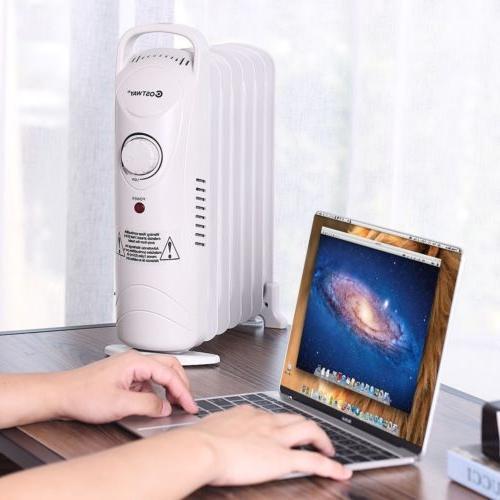700 Portable Oil Filled Radiator Adjustable Thermostat