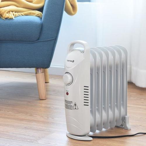 700 W Home Heater Portable Electric Oil Radiator Thermostat