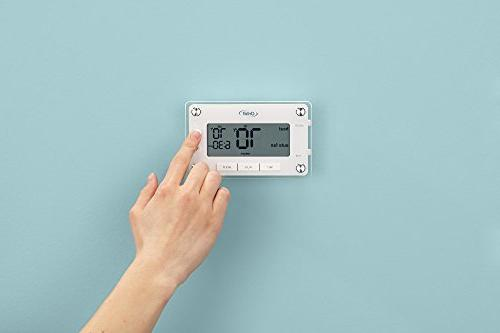 Orbit 83521 Clear Programmable Thermostat Easy-to-Read Display