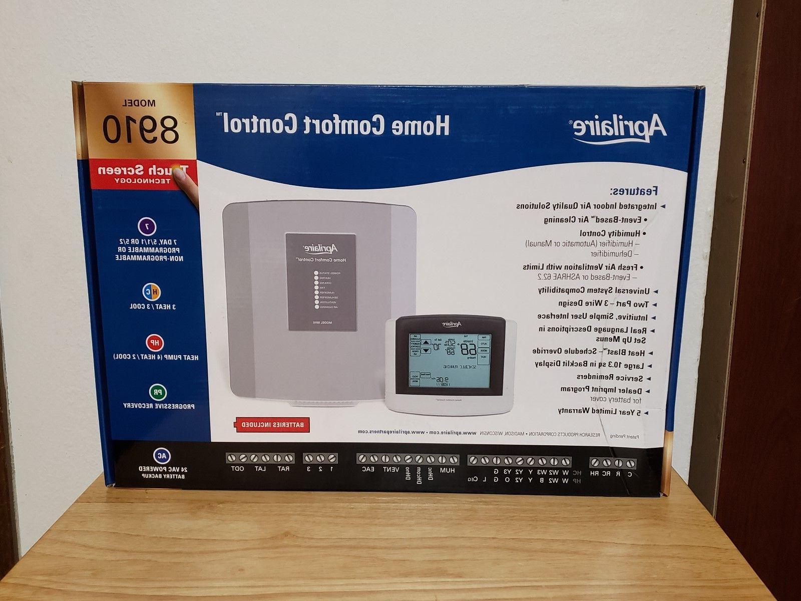 8910 home comfort control brand new in