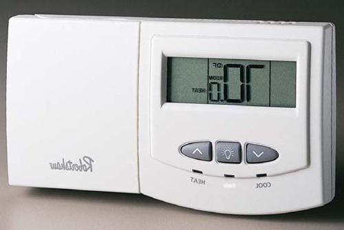 9550 deluxe non programmable thermostat