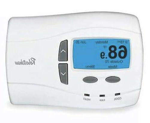 Robertshaw 9701i2 24-Volt AC 1 Heat / 1 Cool Deluxe Programm
