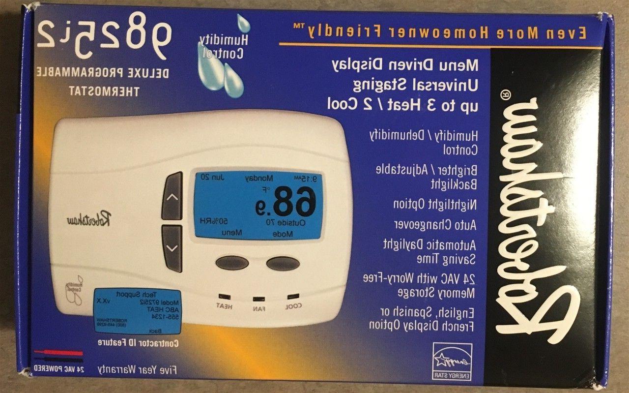 9825i2 digital thermostat 3 heat 2 cool