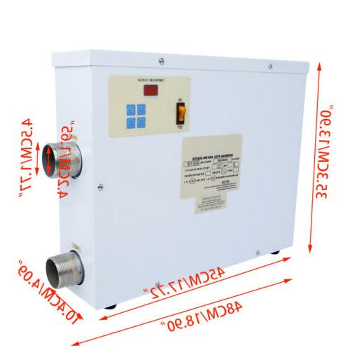 9KW Electric Water Heater Pool SPA Hot Tub US